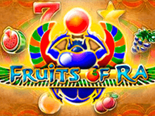Игровой онлайн автомат Fruits Of Ra, доступный для игры на деньги